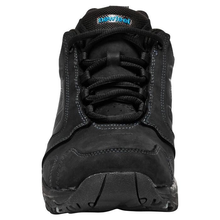 Chaussures marche sportive homme Nakuru Novadry imperméable cuir noir