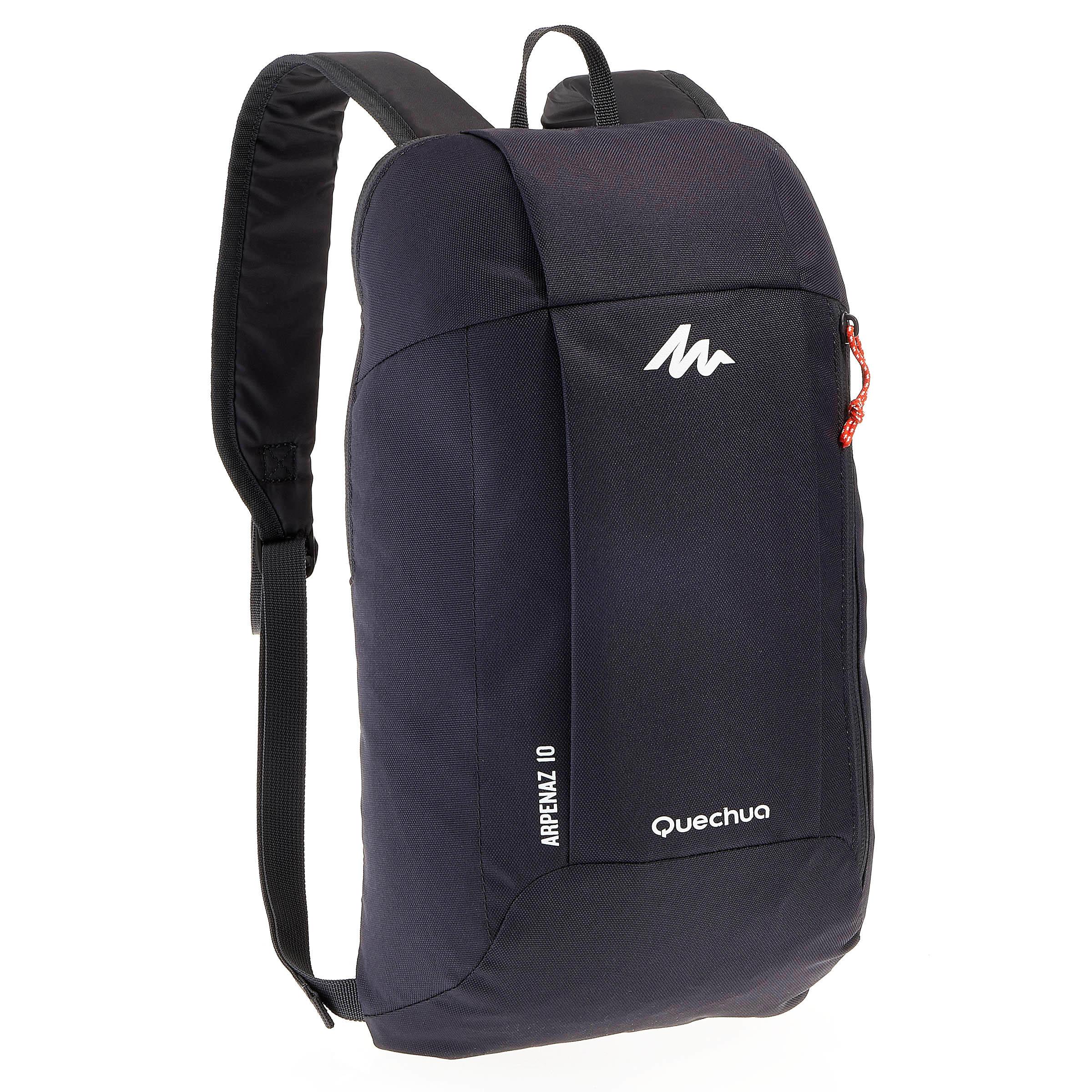Arpenaz 10 L day hiking backpack - black
