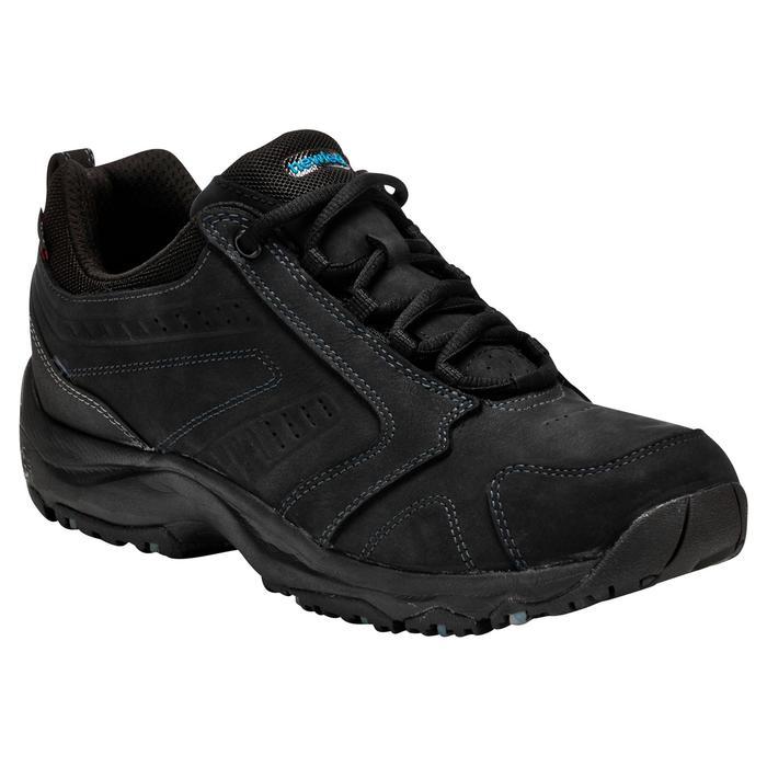 Zapatillas Caminar Newfeel Nakuru Novadry Impermeables Piel Hombre Negro
