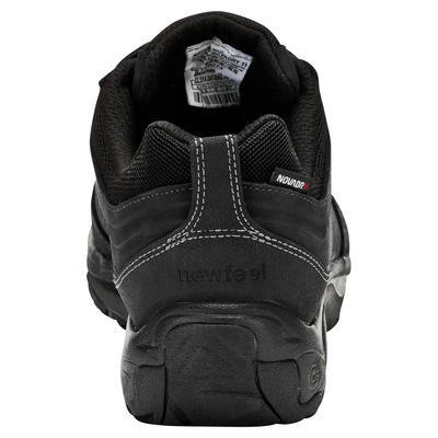 Nakuru Novadry Men's Fitness Waterproof Walking Shoes - Black Leather
