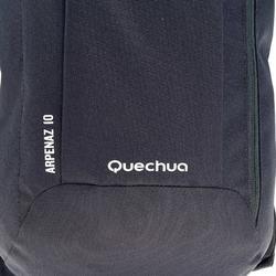 Mochila de Montaña y Senderismo Quechua NH100 10 Litros Negro