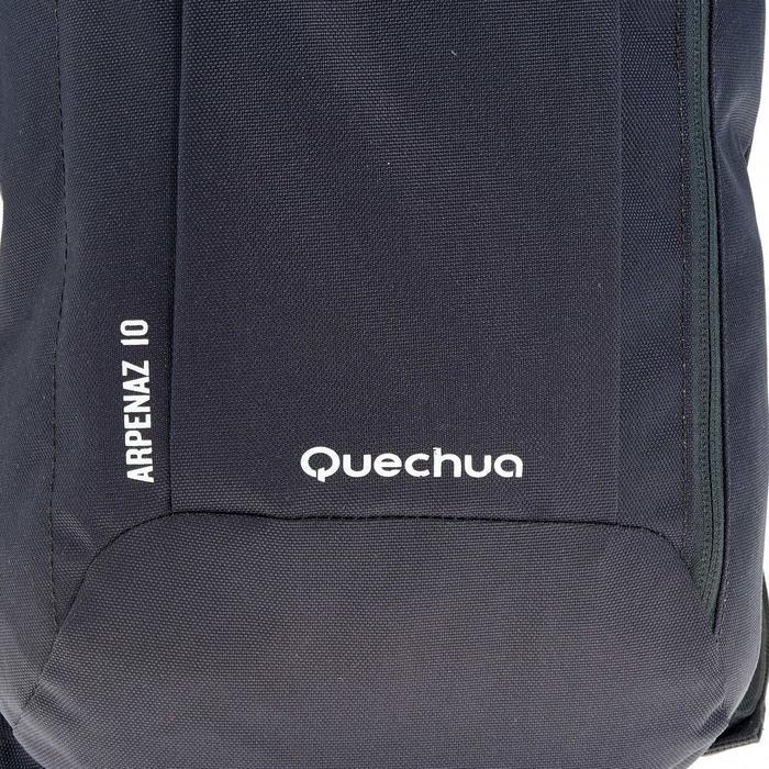 Wanderrucksack NH100 10 Liter schwarz