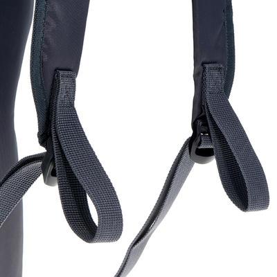 حقيبة Arpenaz 10 لتر للتنزه ليوم كامل - أسود