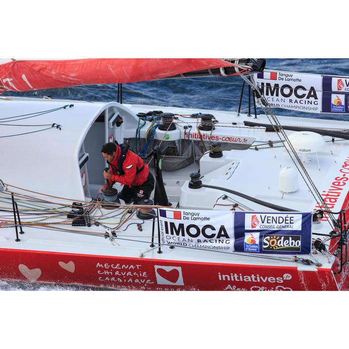 Gilet de sauvetage gonflable bateau adulte LJ150N AIR avec harnais - 675266