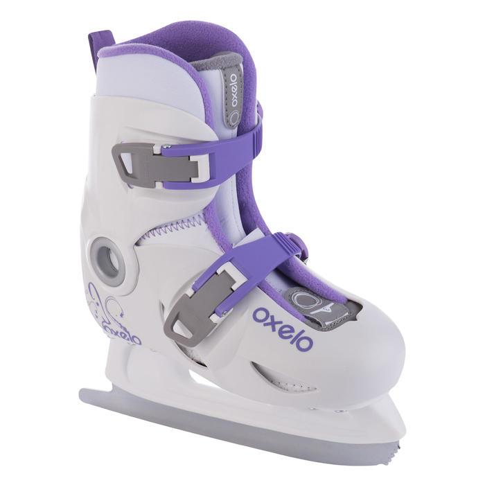 Patins à glace enfant PLAY 3 BLANC - 678022
