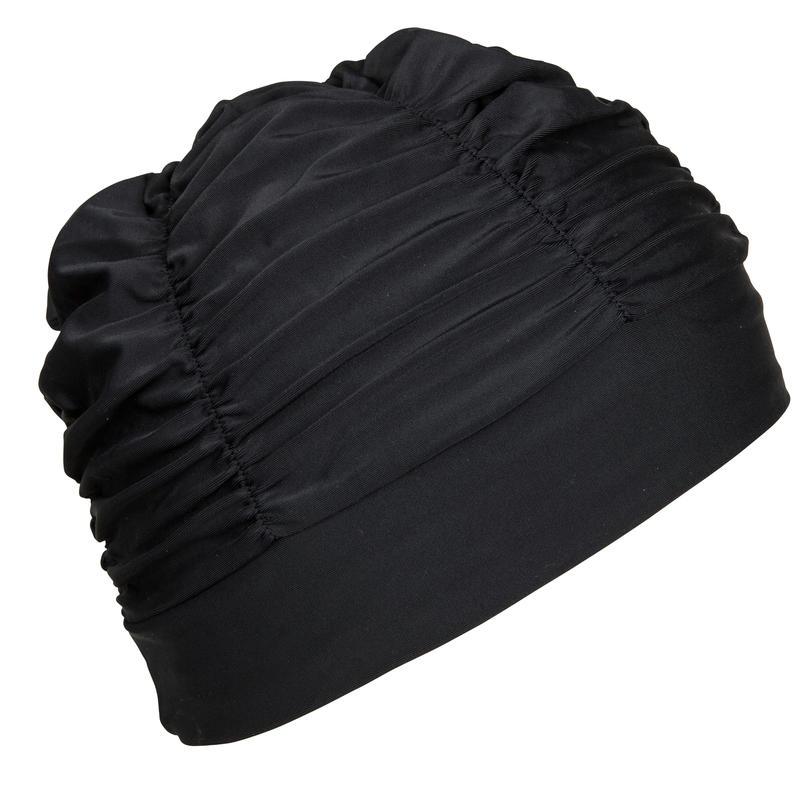 Mesh Swimming Cap - Volume Black