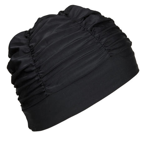 Mesh Swimming Cap - Volume Black