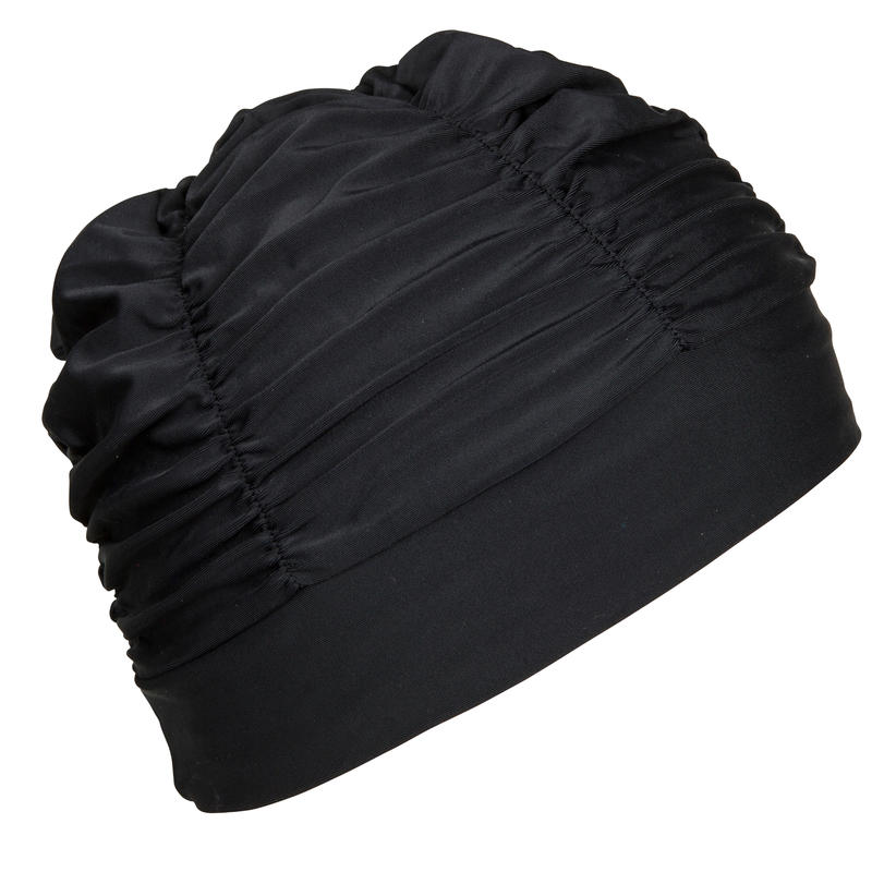 Volume Mesh Swimming Cap - Black