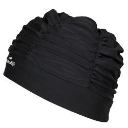 Badmuts volume textiel zwart