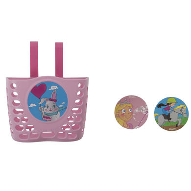 Panier Princesse avec stickers