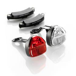 Led fietsverlichting SL200 voor- en achterlicht
