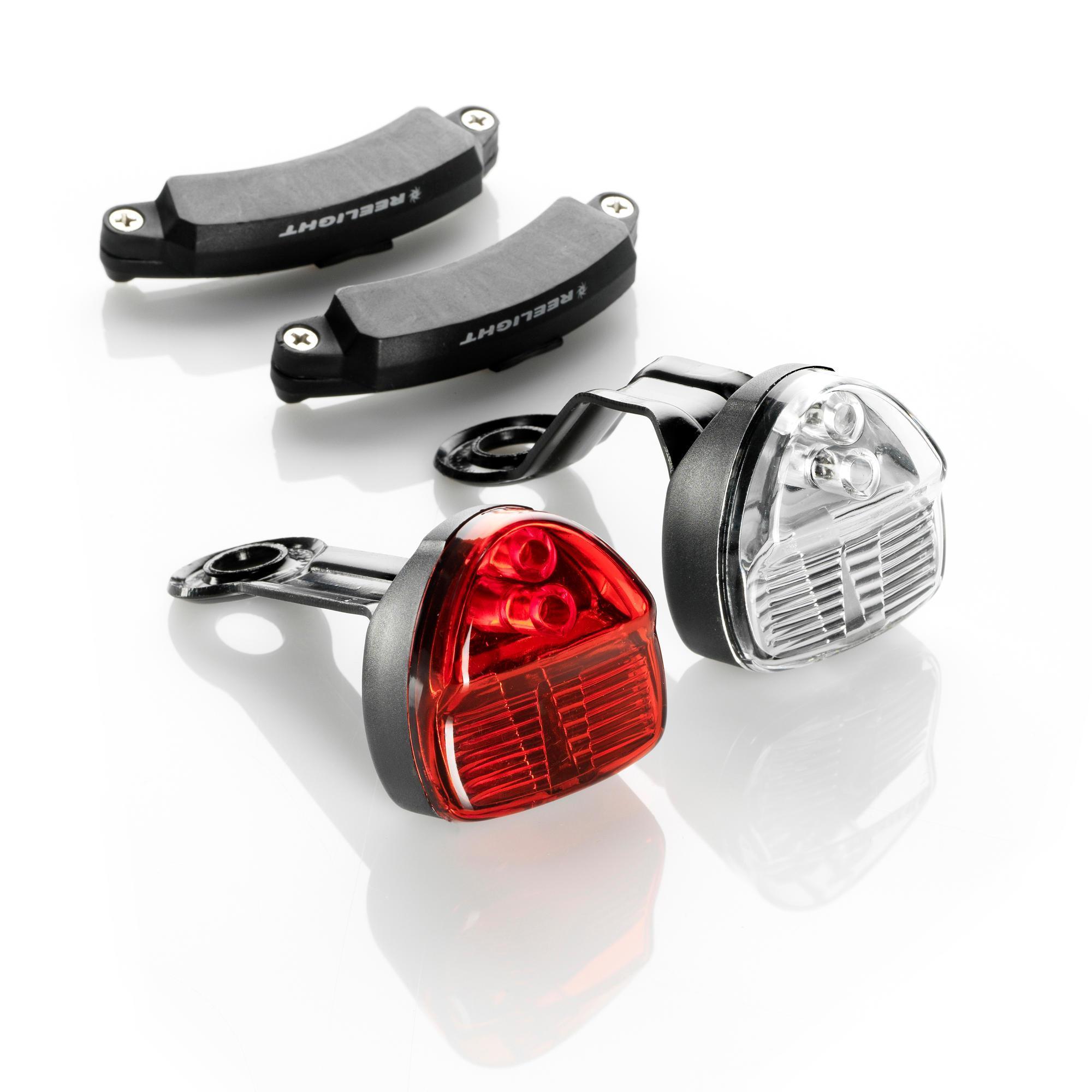 Reelight Ledfietsverlichting Reelight SL200 voor- en achterlicht