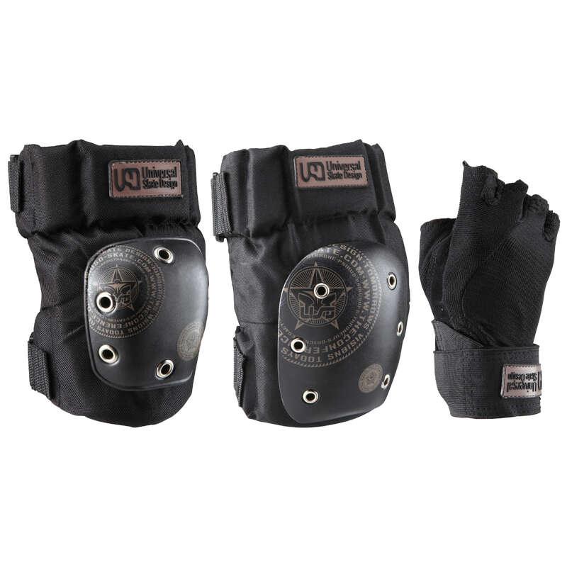 Védőfelszerelések - gyerek és felnőtt Roller - Védőfelszerelés USD 3 db-os QUIKSILVER - Roller