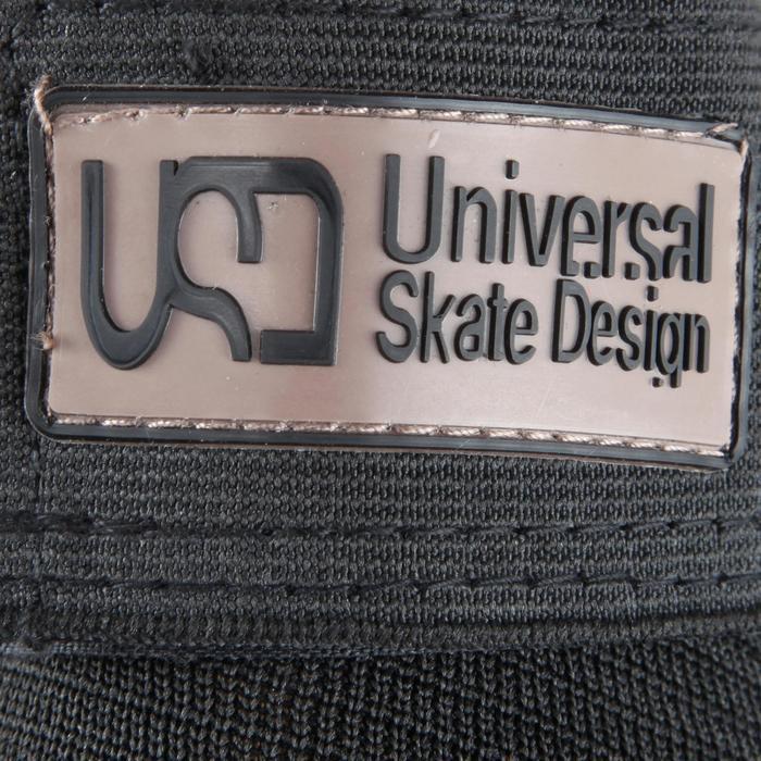 Protecciones Skate Patinete Patinaje USD Adulto Set 3 Piezas Negro
