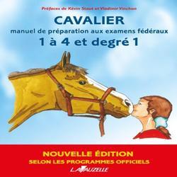 Livre d'équitation préparation aux examens fédéraux 1 à 4 et degré 1