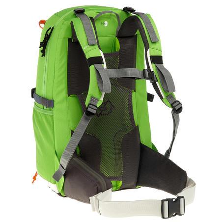 حقيبة ظهر F 22 AIR للصغار - أخضر/رمادي. حقيبة جيدة التهوية توفر راحة رائعة