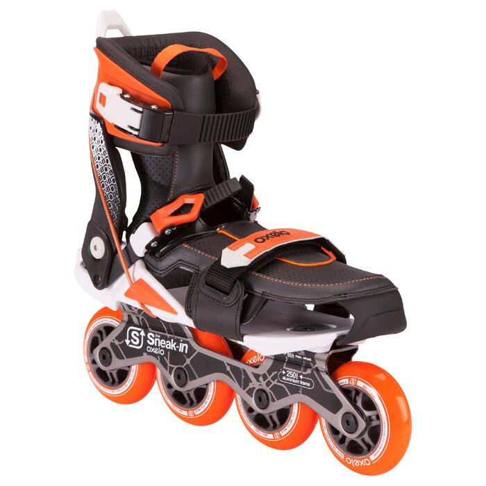 Roller adulte mobilité urbaine SNEAK-IN orange noir - 691058