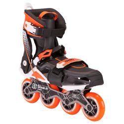 Roller adulte mobilité urbaine SNEAK-IN orange noir