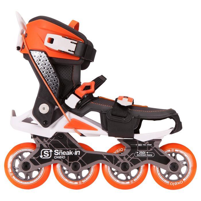 Roller adulte mobilité urbaine SNEAK-IN orange noir - 691062