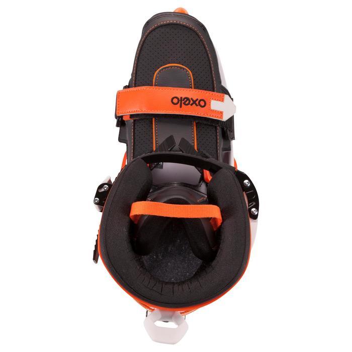 Roller adulte mobilité urbaine SNEAK-IN orange noir - 691064