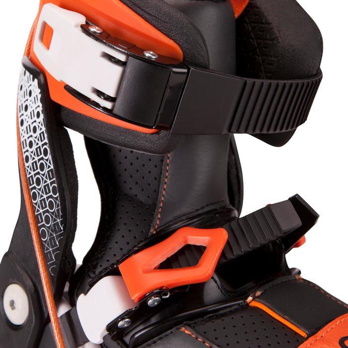 Roller adulte mobilité urbaine SNEAK-IN orange noir - 691067