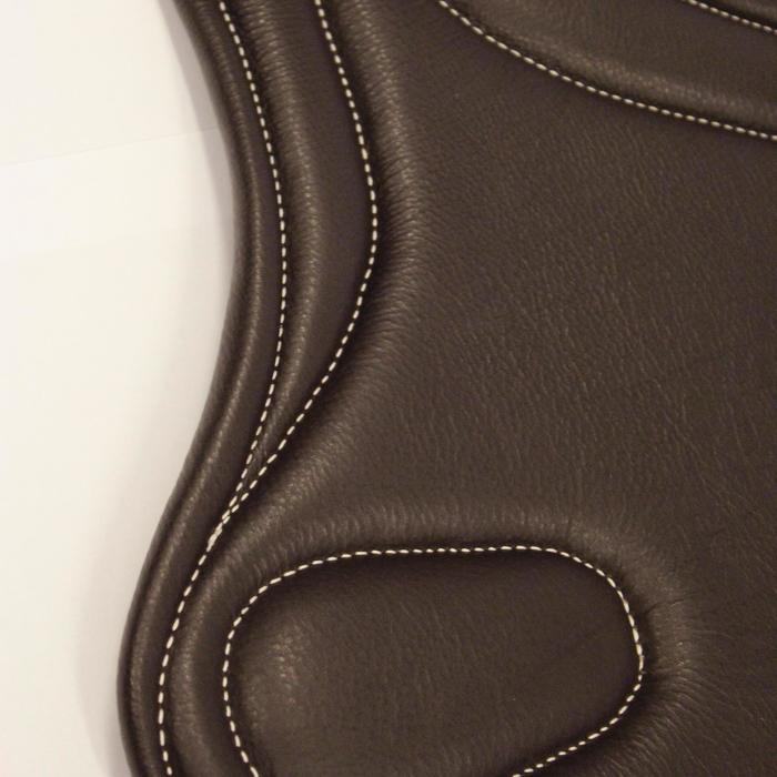 Sangle bavette cuir équitation poney et cheval ROMEO - 691088