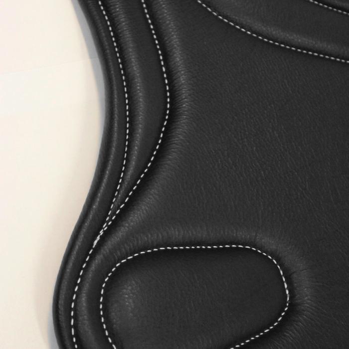 Sangle bavette cuir équitation poney et cheval ROMEO - 691089