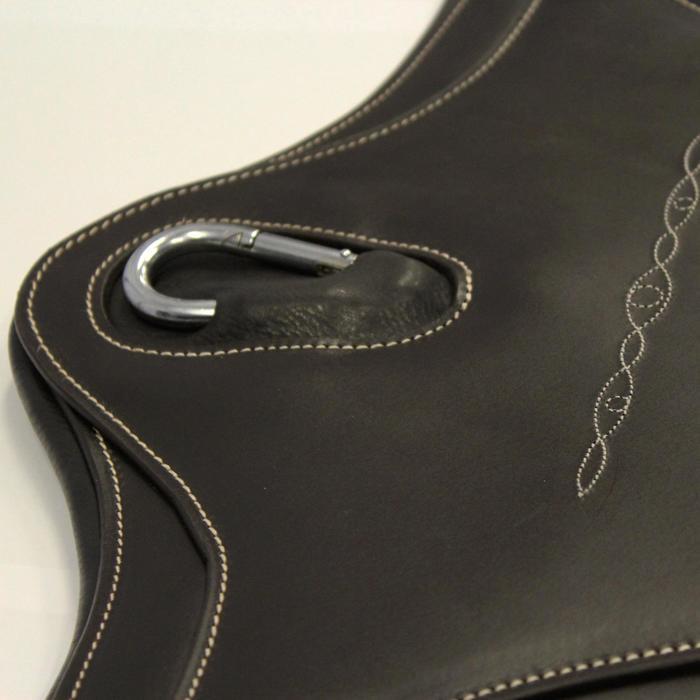 Sangle bavette cuir équitation poney et cheval ROMEO - 691091