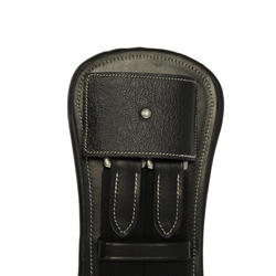 Romeo Horseback Riding Dressage Saddle Short Girth for Horse/Pony - Black