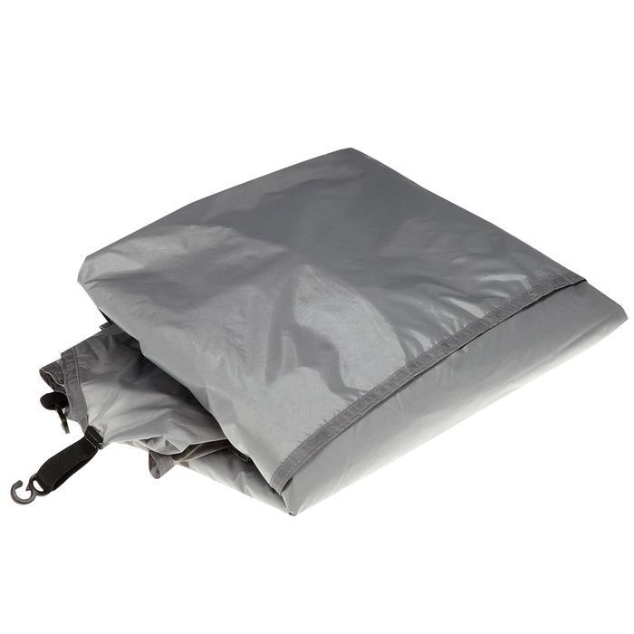 Tapis de sol de tente de trek Quickhiker Ultralight 4 personnes gris clair