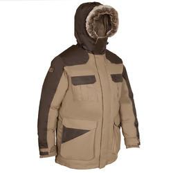 Parka de caza frío intenso Toundra 300 marrón
