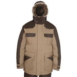 Jagersparka Toundra 300 voor extreme kou bruin