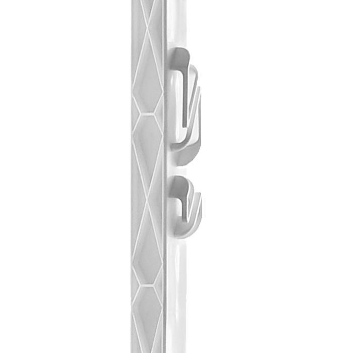 5 Weidezaunpfähle PVC Titan 160 cm 5 Stück