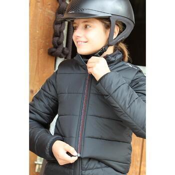 Veste équitation enfant SAFY noir - 692867