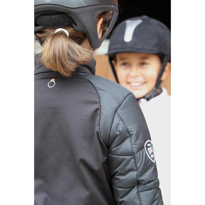 Veste équitation enfant SAFY noir - 692868