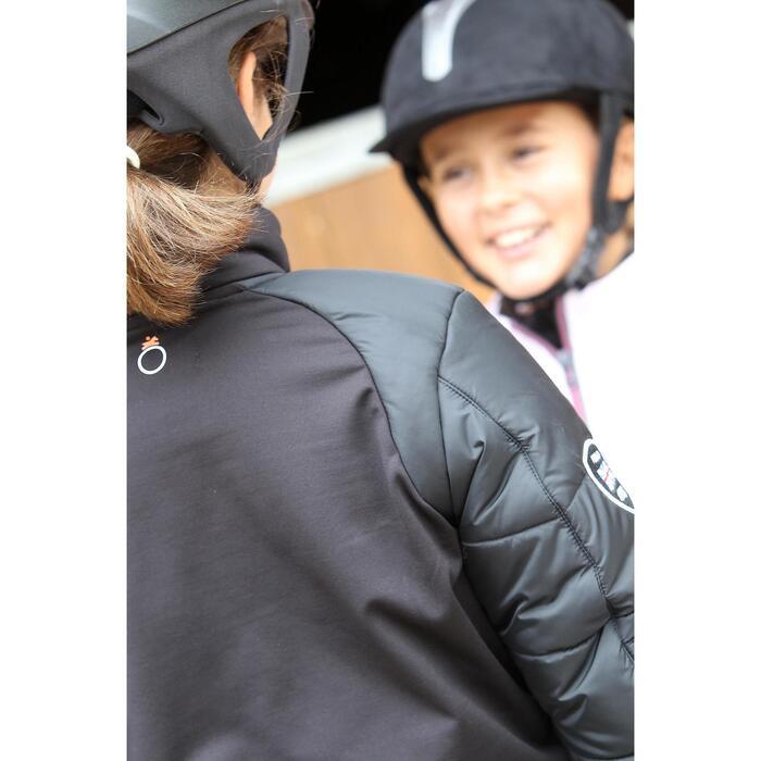 Veste équitation enfant SAFY noir - 692869