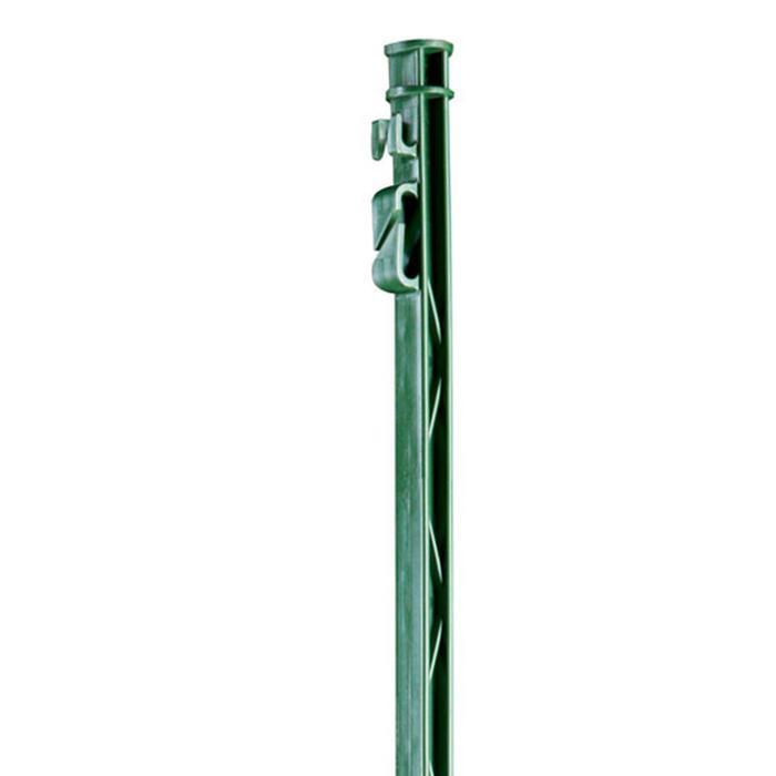 Set 5 plastic paaltjes voor paardenomheining groen - 160 cm
