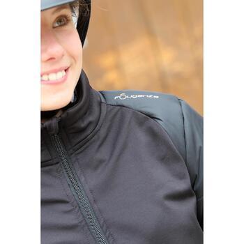 Veste équitation enfant SAFY noir - 692870