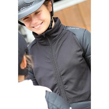 Veste équitation enfant SAFY noir - 692872