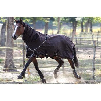 Halsstuk Allweather light ruitersport paard bruin - 692894