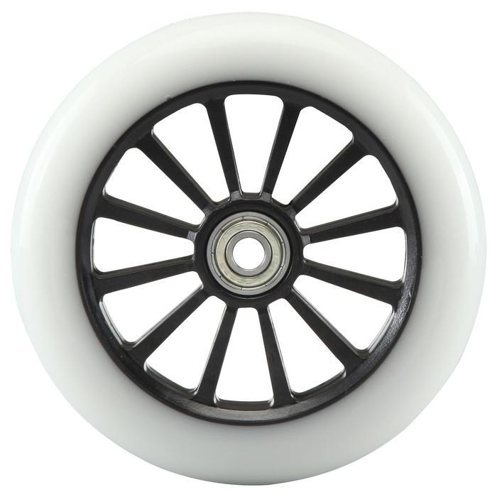 1 roue trottinette 125mm avec roulements noire - 692918