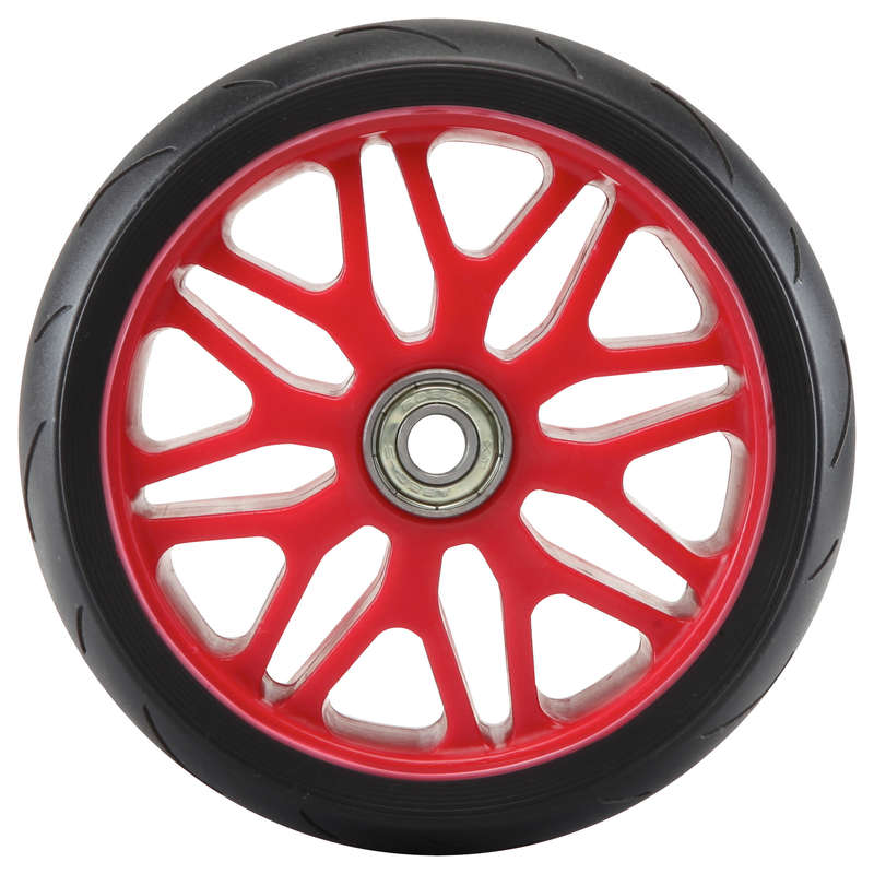 OTHER SCOOTER GLIDES - 1 DTX Front Scooter Wheel OXELO