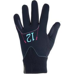 Warme rijhandschoenen Easywear voor kinderen