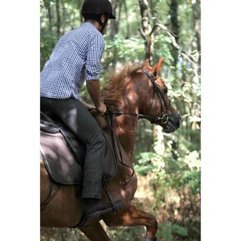 Botines Equitación Fouganza Sentier Adulto Marrón