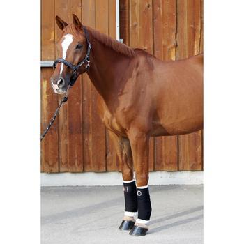 Bandagierunterlagen 2er-Set klein Pony/Pferd weiß