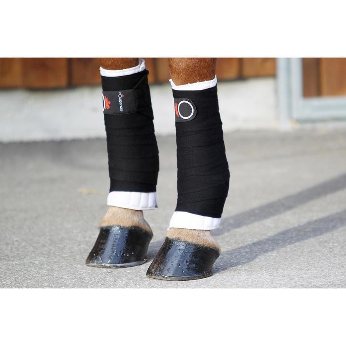 Bandagierunterlage klein Pony/Pferd 2er-Set weiß
