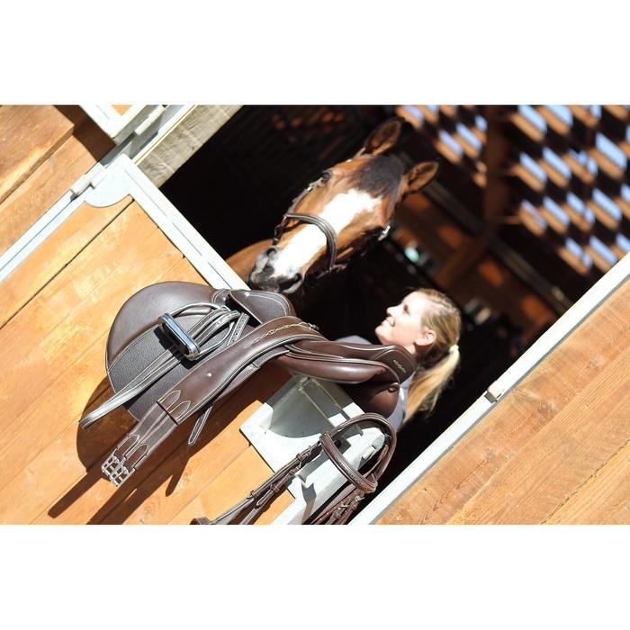 Sangle en cuir équitation cheval et poney ROMEO marron