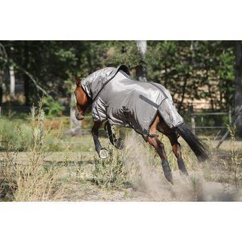 Chemise antimouche équitation chevaux et poneys beige - 693163