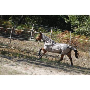 Chemise antimouche équitation chevaux et poneys beige - 693164
