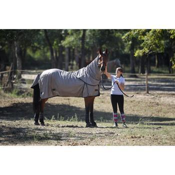 Chemise antimouche équitation chevaux et poneys beige - 693166